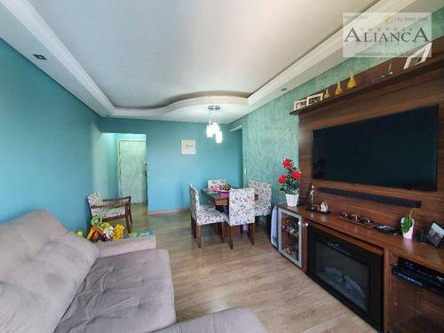 Imagem 1 de 21 de Apartamento Com 3 Dormitórios À Venda, 80 M² Por R$ 375.000,00 - Jardim Das Acácias - São Bernardo Do Campo/sp - Ap2320