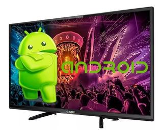 Smart Tv 32 Cmb Led Lu32 Android Tv Hd Hdmi Usb Vga Tda Cuotas S/int
