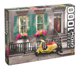 Quebra Cabeça 1000 Peças Scooter - Puzzle Grow