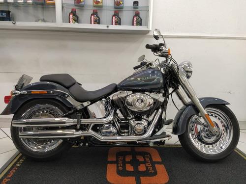 Harley Davidson Softail Fat Boy Preta 2015 - Target Race