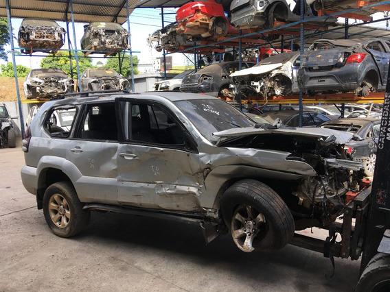 Toyota Land Cruiser Prado Sucata Retirada Peças Import Peças