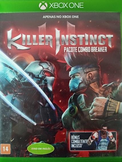Jogo Killer Instinct Midia Fisica Do Xbox One