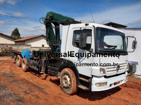 Caminhão Mercedes-benz Atego T1418 Munck Marca Phd 42.007