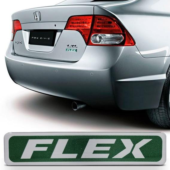 Adesivo Flex Porta Malas New Civic 2007 2008 2009 2010 2011