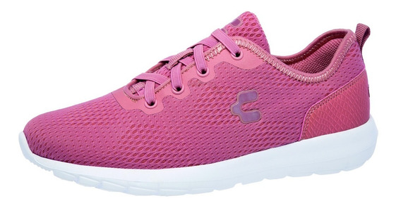 Tenis Charly 1049085 Para Dama Color Rosa/blanco