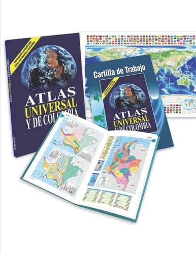 Atlas Universal Y De Colombia( Solo Nuevos Y Originales)