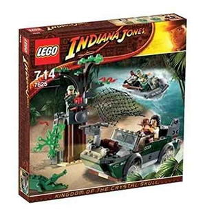 Lego Indiana Jones River Chase 7625 Compreonline!