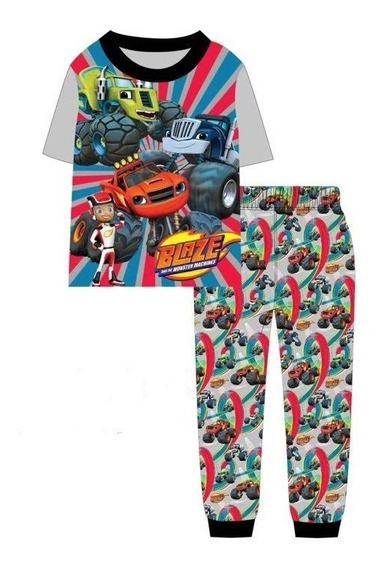Pijama Blaze Monster Machines (2-7 Años)