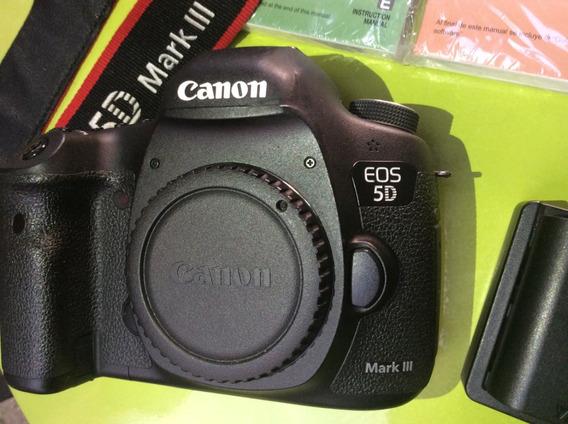 Canon Mark 5d Iii Full Frame Só O Corpo Apenas 16.000 Clicks