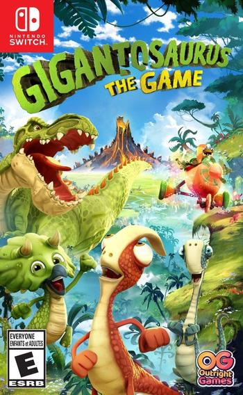 Gigantosaurus The Game For Nintendo Switch