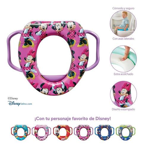 Imagen 1 de 4 de Entrenador De Baño Para Bebé Minnie Disney Priori