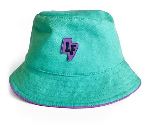 Chapéu Bucket Hat Verde Lf20
