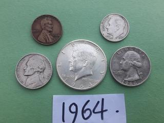 Moneda Antiguas Del 1964 Con Error