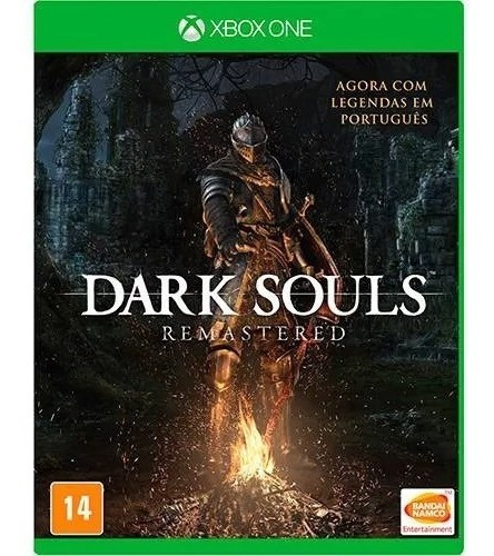 Dark Souls 1 Remastered Midia Fisica - Usado - Xbox One