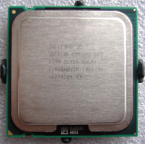 Intel Core 2 Duo E6300 2m Cache, 1.86 Ghz, 1066 Mhz Fsb