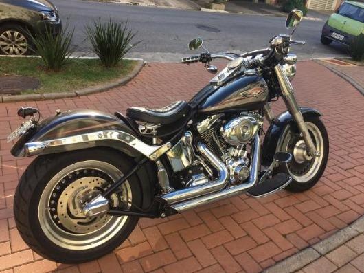 Harley Fat Boy 2008 | Único Dono | 4.900 Km | Personalizada