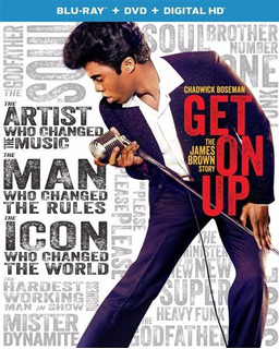 Blu-ray + Dvd Get On Up / The James Brown Story