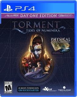 Torment Tides Of Numenera Day One Edition Ps4 Nuevo Od.st