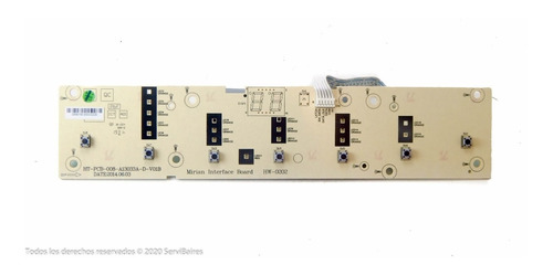Placa Interfase Lavarropas Electrolux Digital Wash 6.5 Orig