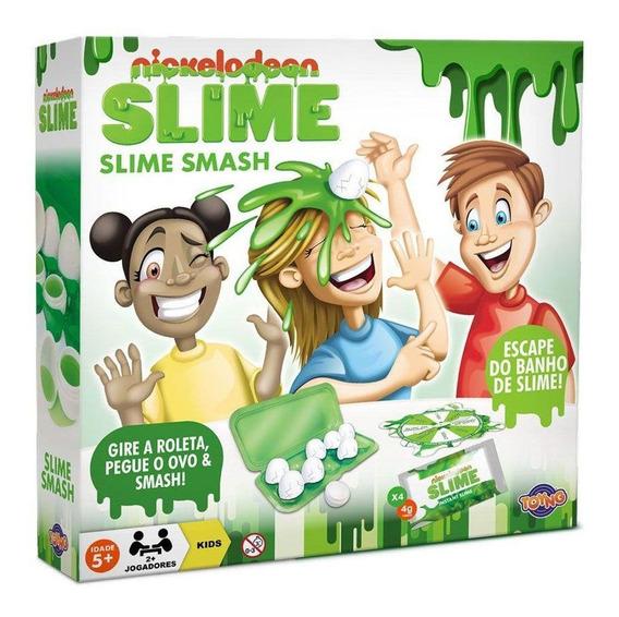 Jogo Slime Smashy Nickelodeon Toyng Ref:37652