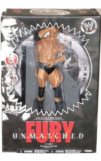 Wwe Lucha Libre Batista Y Hulk Hogan Figuras