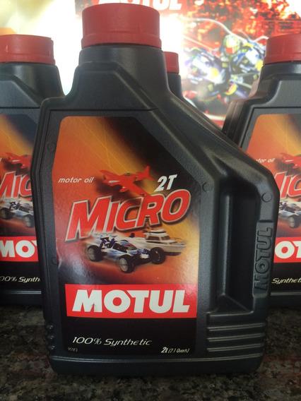Oleo Motul Micro 2t 100% Sintético Modelismo - 2l