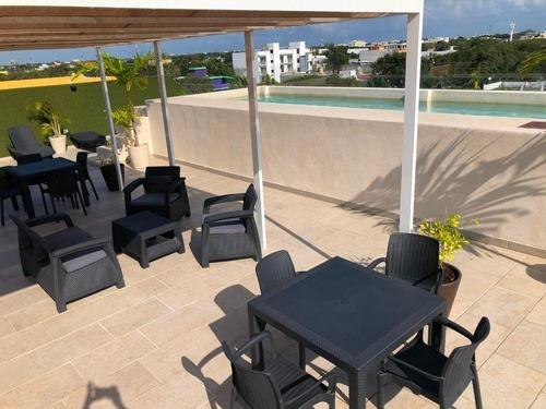 Renta Vacional Estudio Nuevo De Lujo Playa Del Carmen Barato