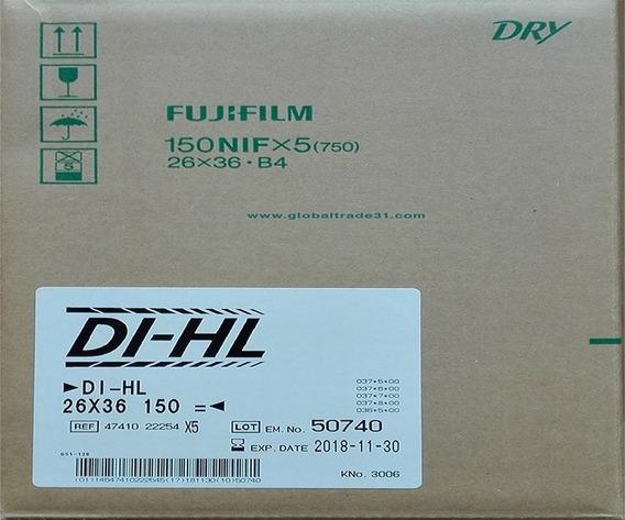 Películas Fuji Dry Laser Di-hl 10*14 (26*36 Cm)