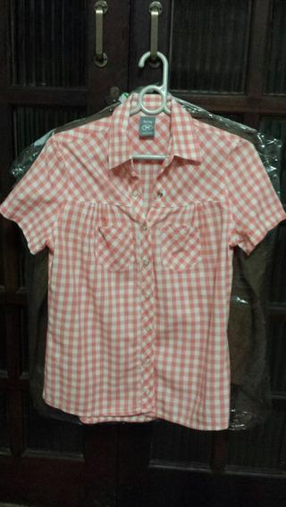 Camisa Xadrez Hering Feminina