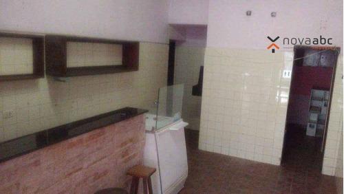 Salão Para Alugar, 30 M² Por R$ 1.220/mês - Jardim Bela Vista - Diadema/sp - Sl0216