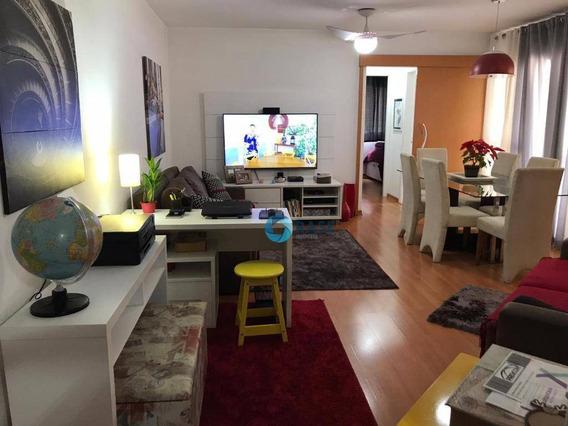 Apartamento Com 3 Dormitórios À Venda, 85 M² Por R$ 330.000 - Parque Taboão - Taboão Da Serra/sp - Ap6967