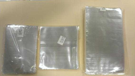 200 Bolsas Celofan Transparente 12.5*13