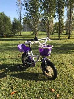 Bicicleta Rodado 12 Marca Raleigt Muy Buen Estado!