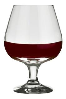 Set X 12 Copas Cognac Nadir 330ml 7528 Vidrio