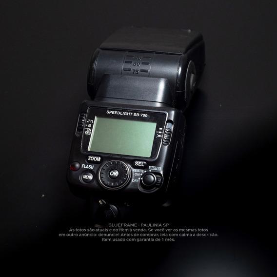 Flash Nikon Sb-700 (usado Com Garantia)