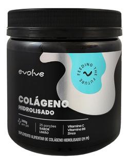Colageno Hidrolisado Em Pó Com Vitamina C Evolve 250g