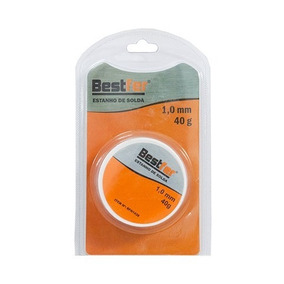 Solda De Estanho 1.0mm 40g Bestfer