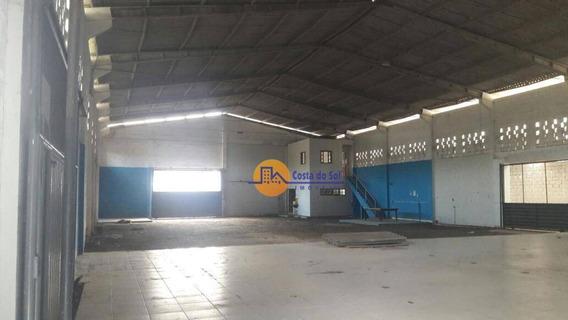 Galpão Comercial À Venda Muito Próximo A Pista, Cidade Beira Mar, Rio Das Ostras - Ga0002