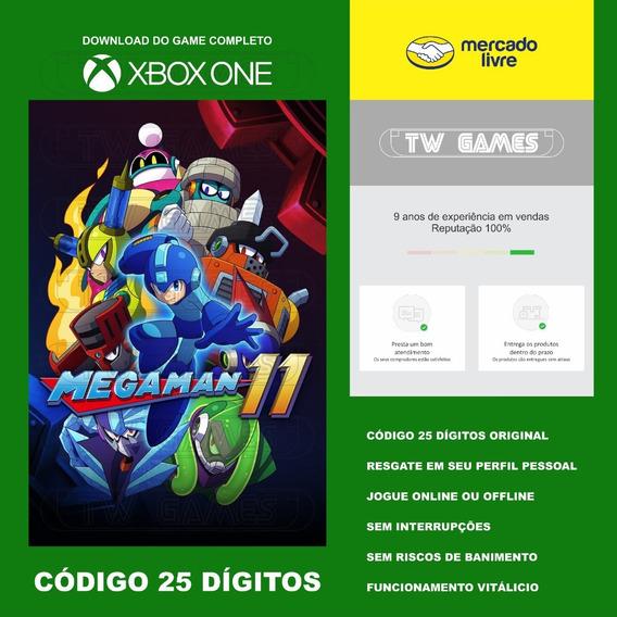 Megaman 11 Codigo 25 Digitos Original Xbox One Fat S X