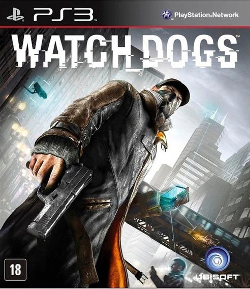 Watch Dogs Para Ps3 Dublado Em Português Novo Lacrado Mídia Física