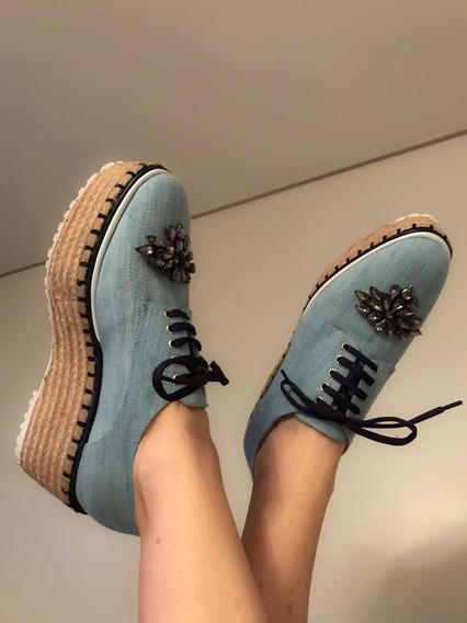 Zapato Calypso Jazmin Chebar Con Pedrería