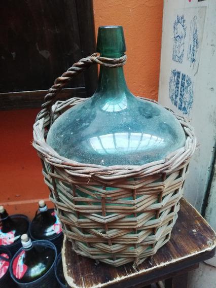 Damajuana Antigua , Sifones Antiguos Y Botellas Viejas