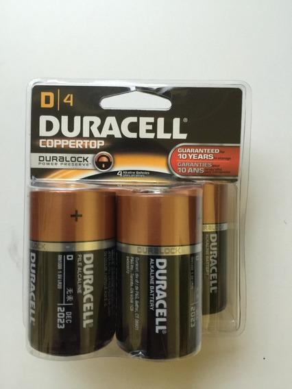 Pilha Duracell Alcalina Grande Embalagem C/ 4 ***original***