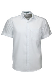 Camisa Microleve Manga Curta - Branca - Ref 440