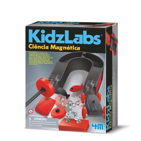 Ciência Magnética - 4m - Brinquedo Educativo Científico