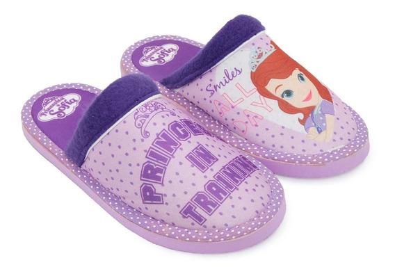 Pantufla Niña Microfibra Infantil Disney Princesa Sofia