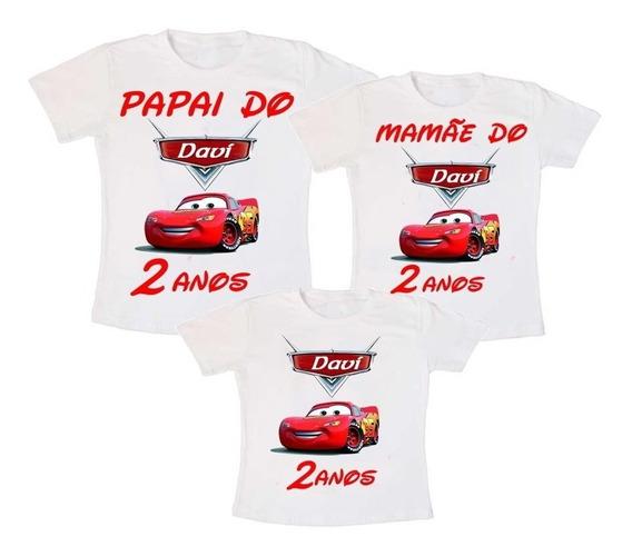 Camiseta Camisa Carros Diney