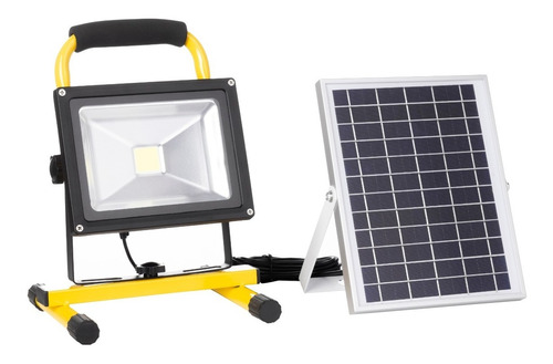 Reflector Led Solar Portatil Lx910/20w | Litex