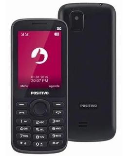 Celular Positivo P30 Preto, Dual Chip, 3g, Anatel.