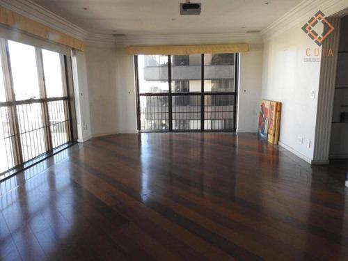 Apartamento Com 4 Dormitórios À Venda, 204 M² Por R$ 850.000,00 - Saúde - São Paulo/sp - Ap50310